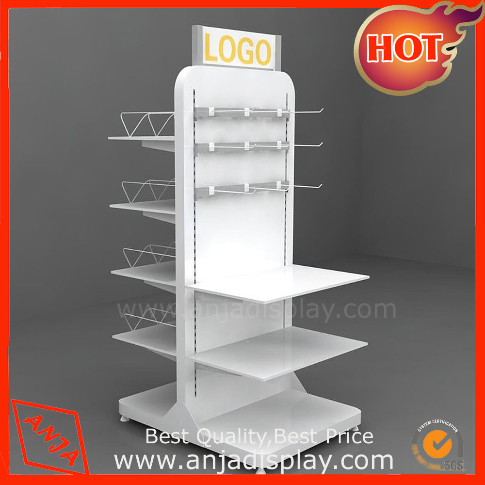 Shop Wooden Clothing Display Rack with Hook