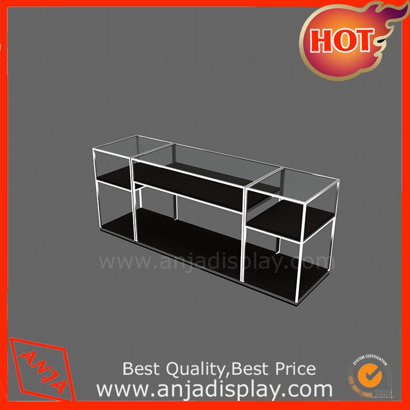 Metal display shelf